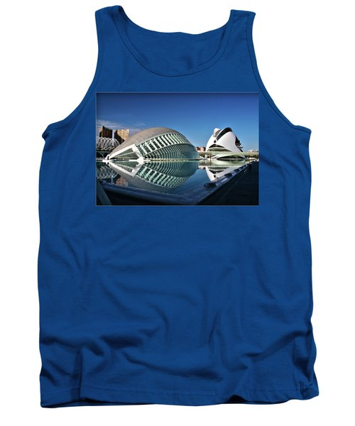 Valencia, Spain - City Of Arts And Sciences Tank Top