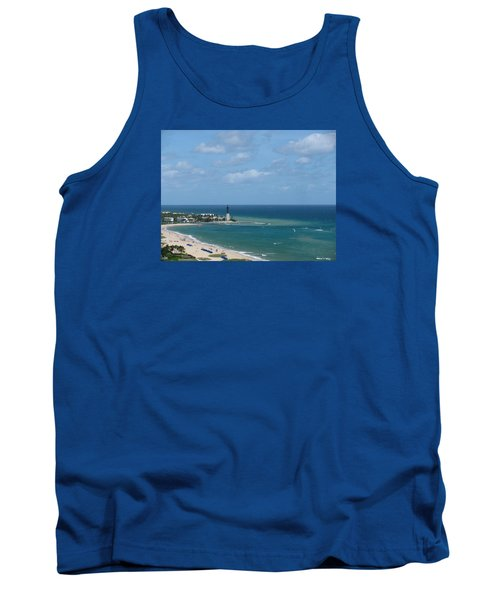 Lighthouse And Kiteboarding Tank Top