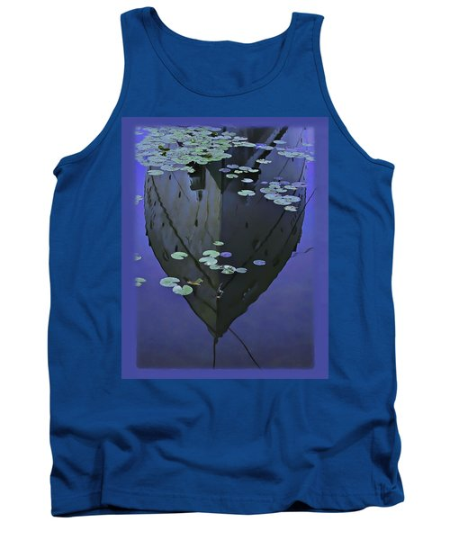 Lily Pads And Reflection Tank Top