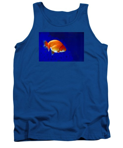 Lion Head Goldfish 6 Tank Top