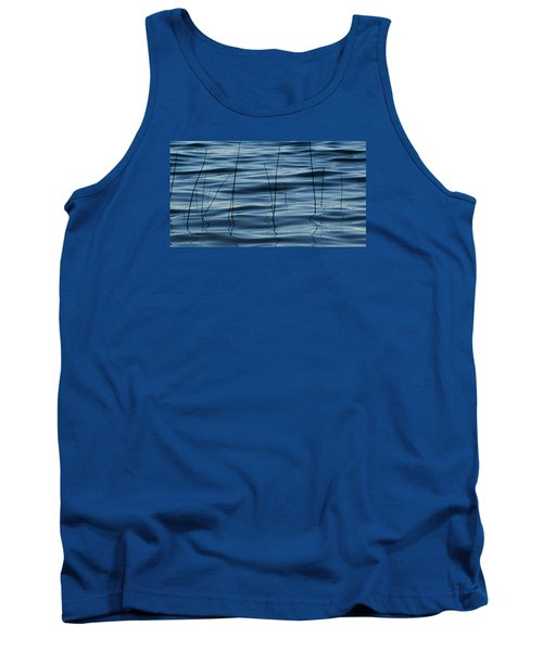 Tank Top featuring the photograph Liquid Reflections  by Lyle Crump