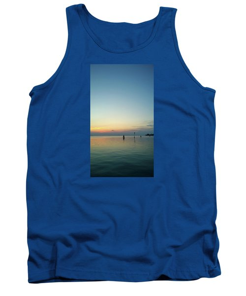Tank Top featuring the photograph Liquid Sunset by Anne Kotan