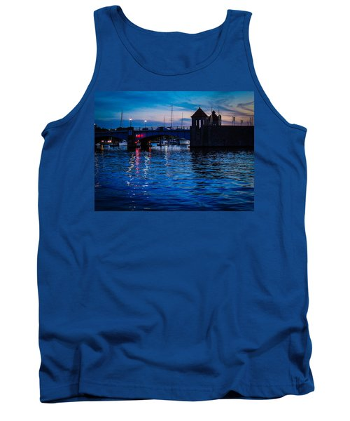 Liquid Sunset Tank Top