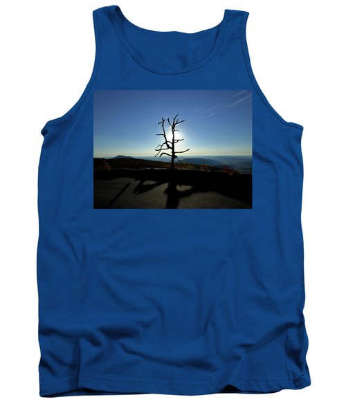 Tank Top featuring the photograph Little Devil Stairs Overlook by Robert Geary