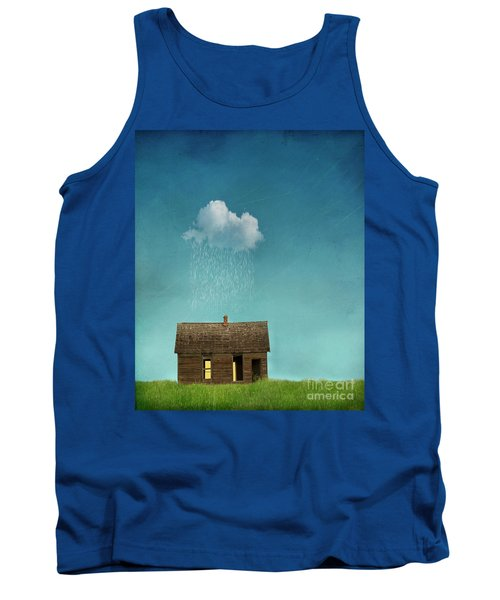 Tank Top featuring the photograph Little House Of Sorrow by Juli Scalzi