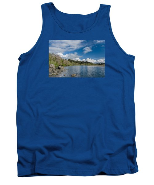 Little River In Spring Tank Top by Greg Nyquist