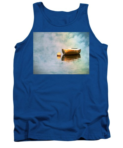 Little Yellow Boat Tank Top