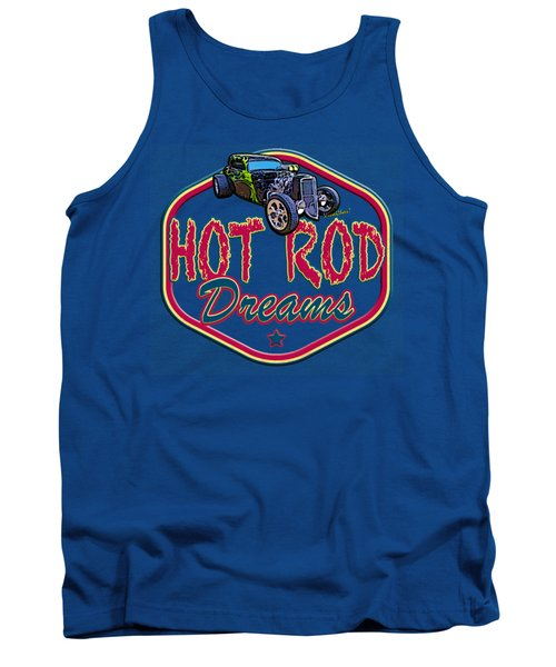 Live Ur Hot Rod Dreams - Vivachas Hot Rod Stories Tank Top