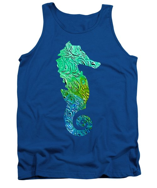 Lively Seahorse Tank Top