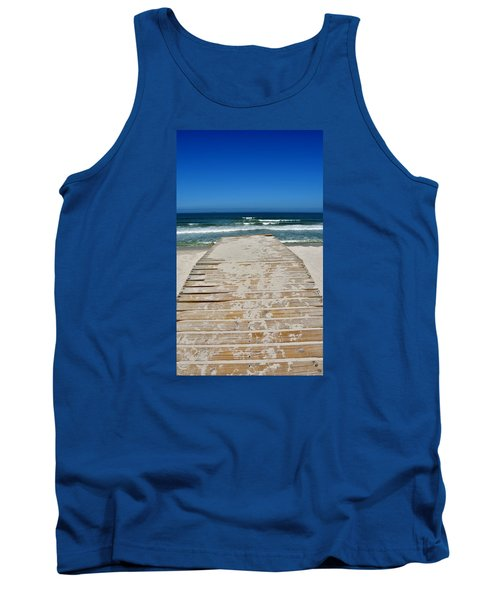 Tank Top featuring the photograph long awaited View by Werner Lehmann