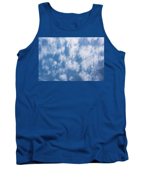 Look Up Not Down Clouds Tank Top by Terry DeLuco