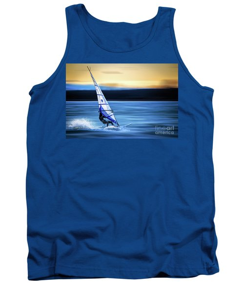 Tank Top featuring the photograph Looking Forward by Hannes Cmarits