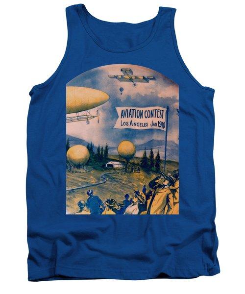 Los Angeles Aviation Contest 1910 Tank Top