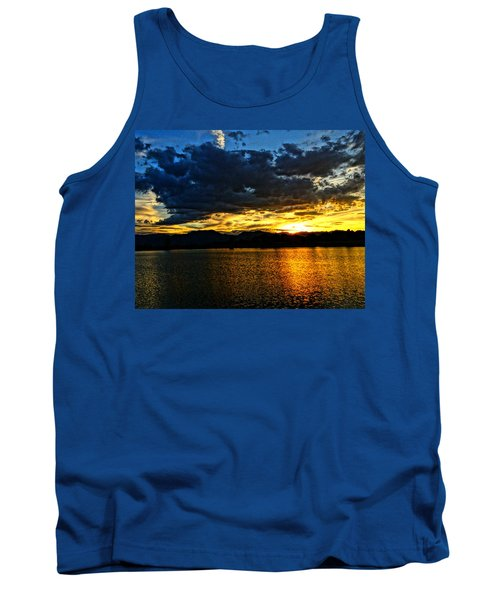 Tank Top featuring the photograph Love Lake by Eric Dee