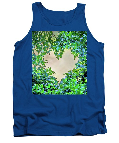Tank Top featuring the photograph Love Leaves by Az Jackson