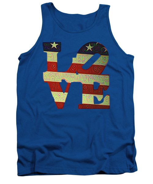 Love The Usa Tank Top