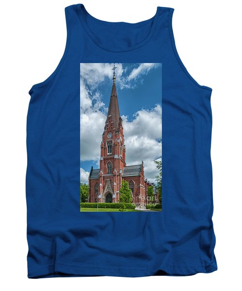 Tank Top featuring the photograph Lund All Saints Church by Antony McAulay