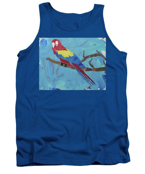 Macaw Tank Top