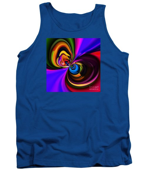 Magic Abstract Tank Top by Elaine Hunter