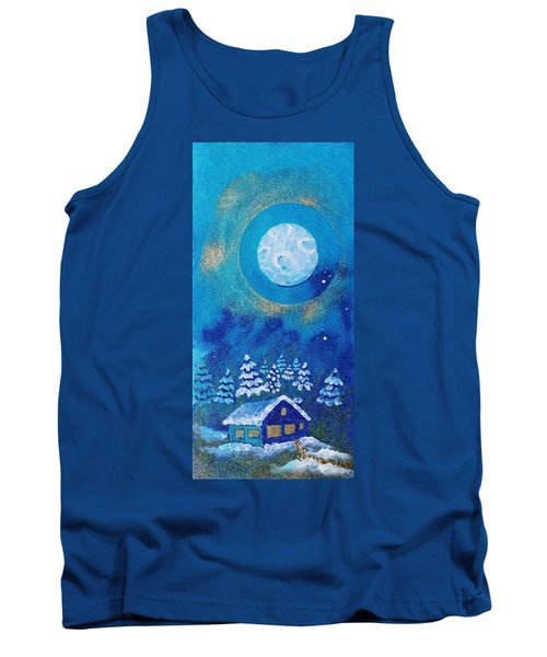 Magical Night At The Cabin Tank Top