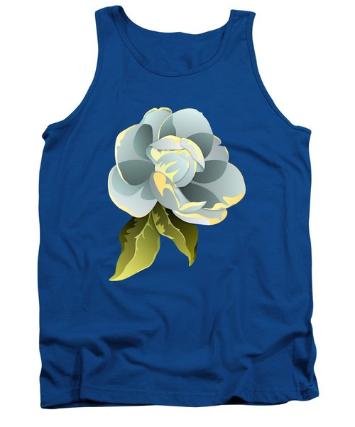Magnolia Blossom Graphic Tank Top