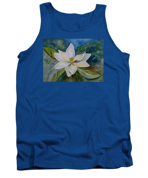 Tank Top featuring the painting Magnolia by Kerri Ligatich