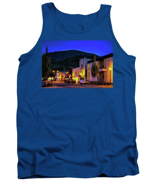 Main Street Lights Tank Top by Dale R Carlson