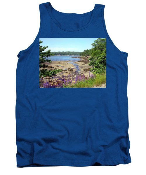 Maine Lupines Tank Top