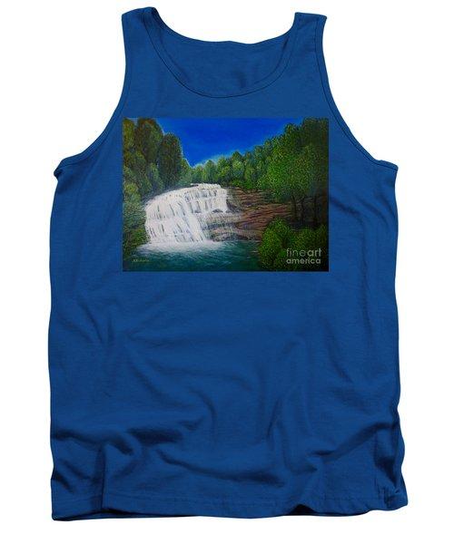 Majestic Bald River Falls Of Appalachia II Tank Top by Kimberlee Baxter