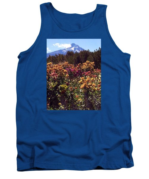 Majestic Mount Hood  Tank Top by Jennifer Lake