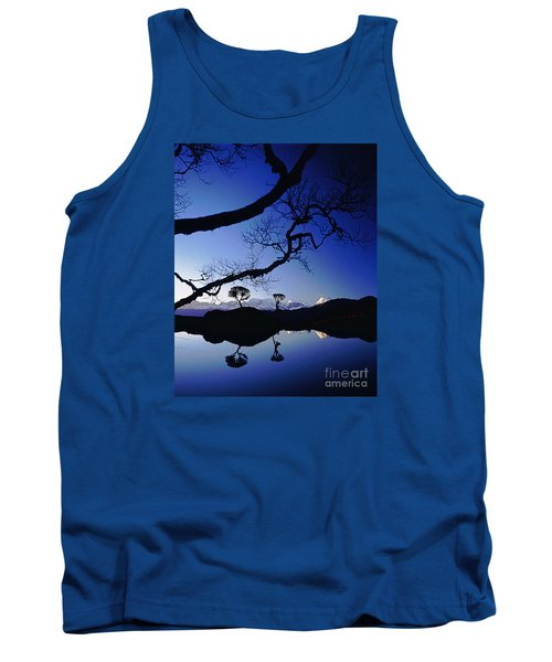 Tank Top featuring the photograph Makalu Nepal At Sunset by Rudi Prott