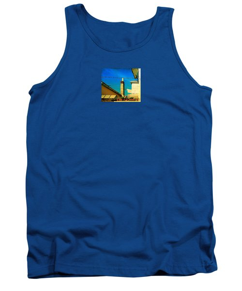 Tank Top featuring the photograph Malamoccoskyline No1 by Anne Kotan