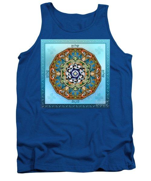 Mandala Shalom Tank Top