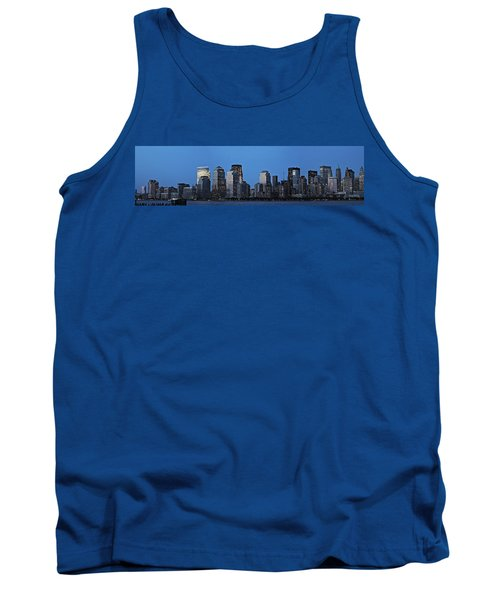 Tank Top featuring the photograph Manhattan Skyline by John Haldane