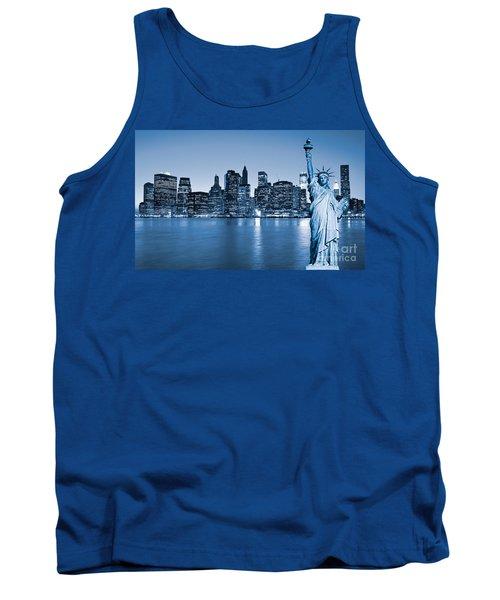 Manhattan Skyline Tank Top