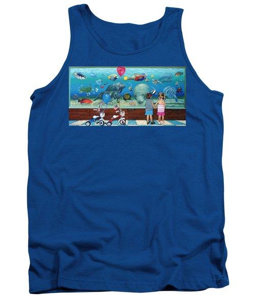 Manitee Aquarium With My Twins Tank Top