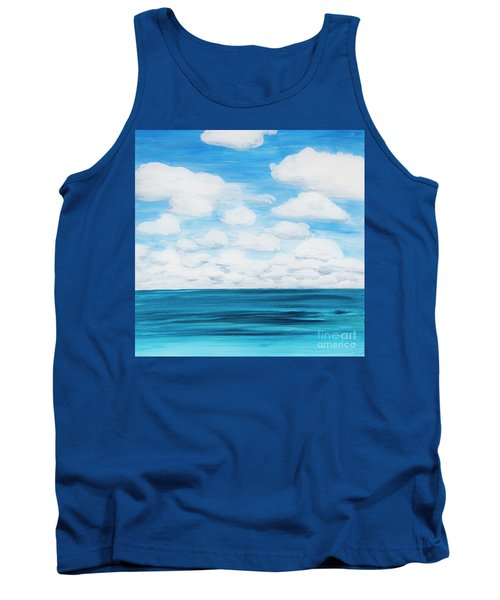 Marine Layer Breaking Up Tank Top