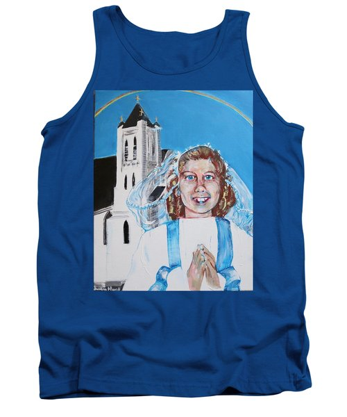 Mary's First Communion Tank Top
