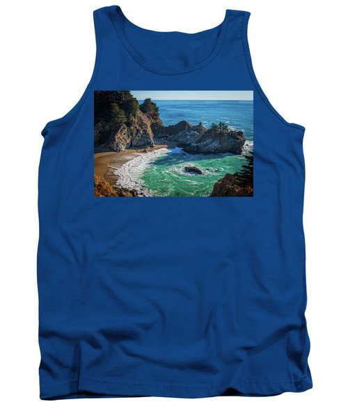 Mcway Falls Julia Pfieffer State Park Tank Top by James Hammond