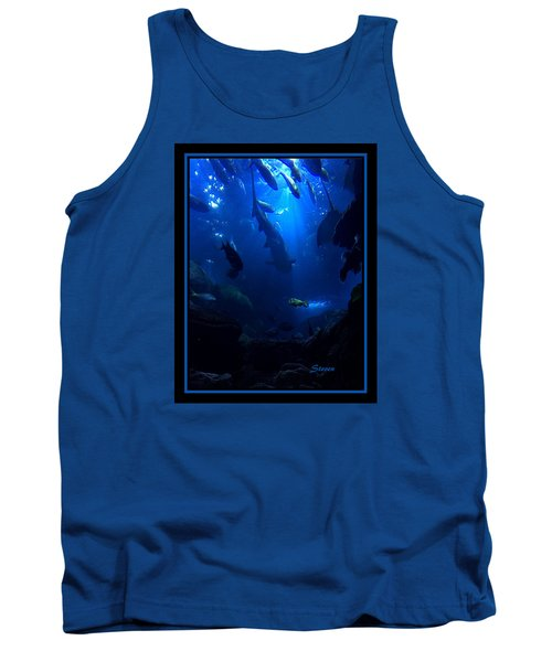 Tank Top featuring the photograph Me by Steven Lebron Langston