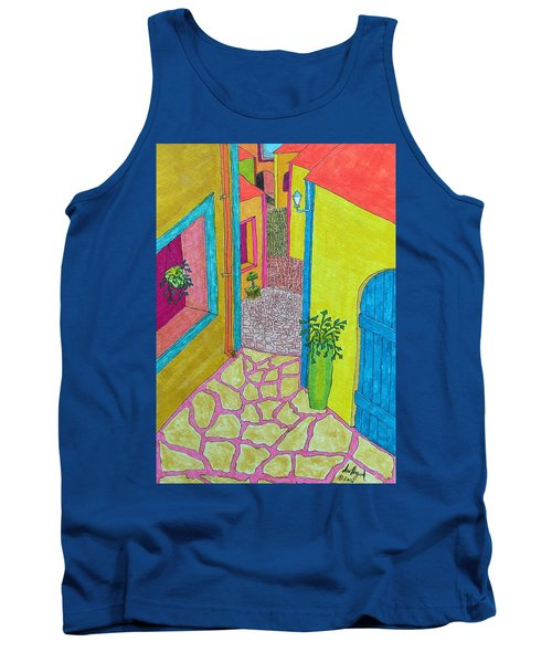 Med Town Tank Top