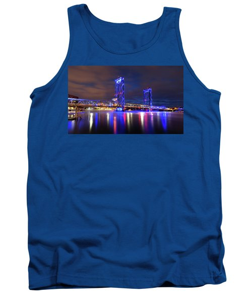 Tank Top featuring the photograph Memorial Bridge by Robert Clifford