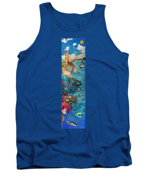 Mermaid In Paradise Tank Top