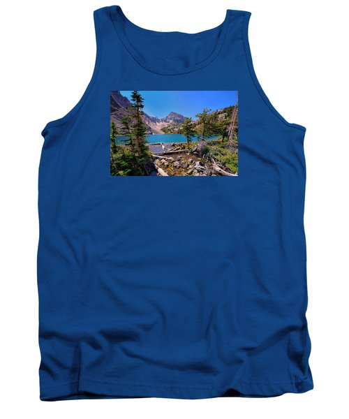 Tank Top featuring the photograph Merriam Lake by Greg Norrell