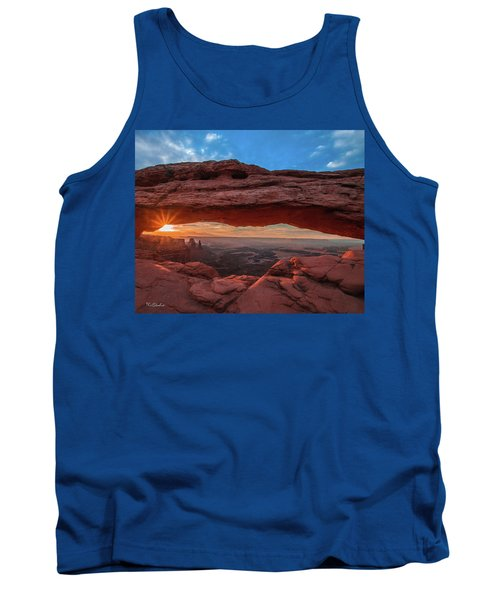 Mesa Arch At Sunrise 3, Canyonlands National Park, Utah Tank Top