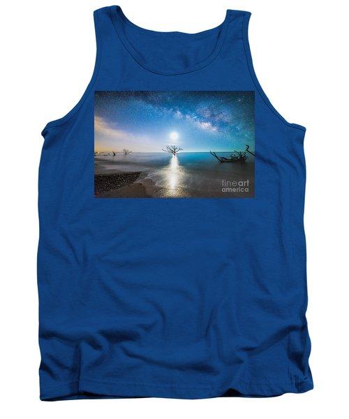 Milky Way Shore Tank Top by Robert Loe