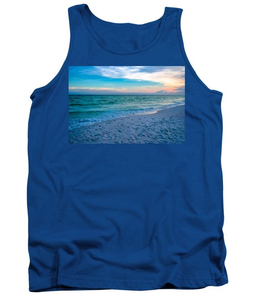 Miramar Blue  Tank Top