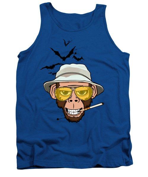 Monkey Business In Las Vegas Tank Top by Nicklas Gustafsson