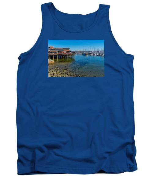 Monterey Harbor Morning Tank Top
