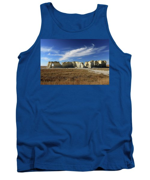 Monument Rock Afternoon  Tank Top
